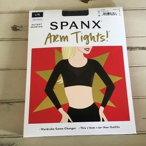 Spanx Arm Tights Layering Piece Opaque L/XL Navy